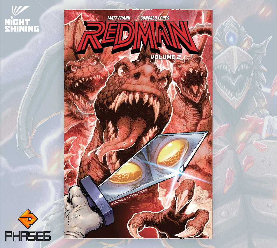 Redman: The Kaiju Hunter Volume 2