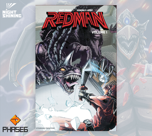 Redman: The Kaiju Hunter Volume 1 Excl. Cover