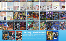 "Load image into Gallery viewer, TF Collectors' Club Magazine ""Nexus Prime"" Bundle"