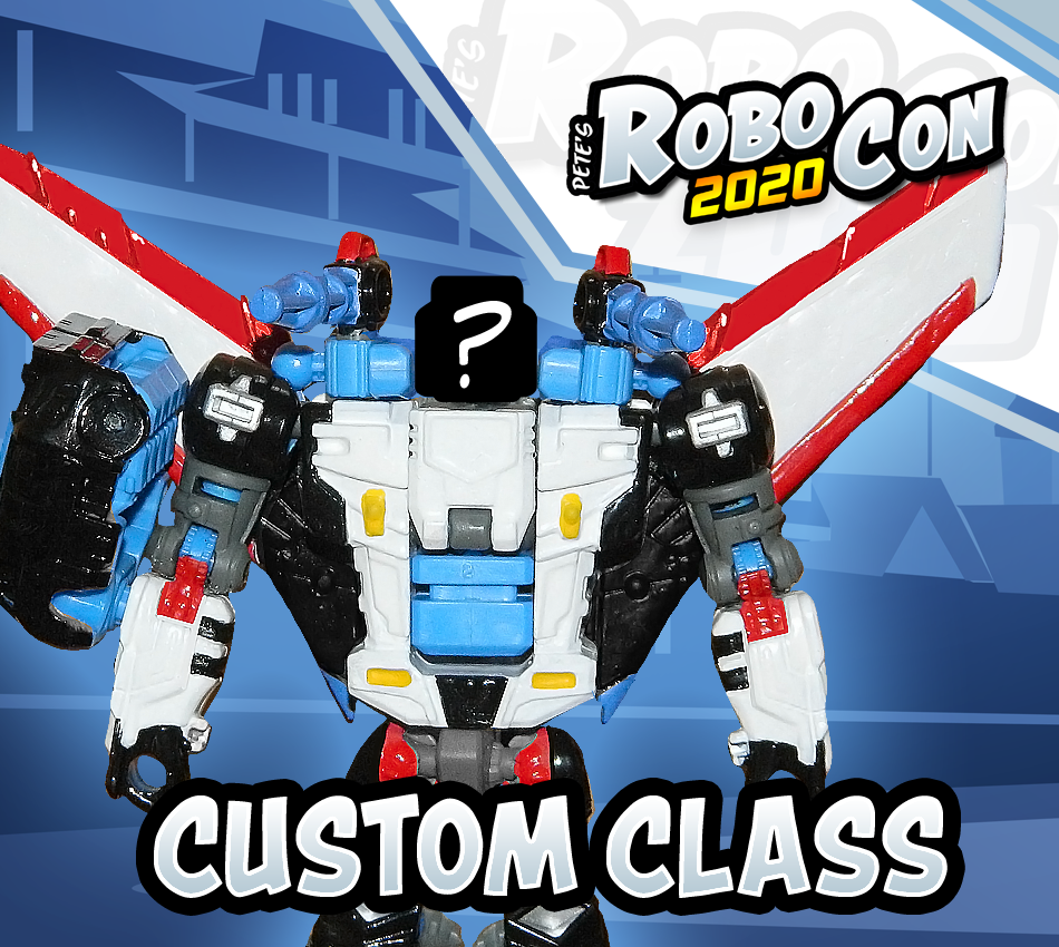*NEW* RoboCon 2020 Custom Class Shattered Glass Megatron