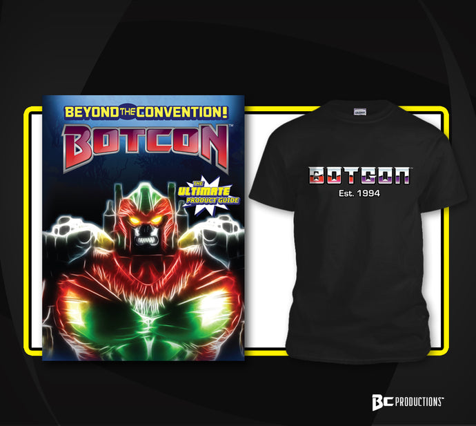 BLACK FRIDAY SPECIAL! Beyond The Convention: The Ultimate Product Guide Con Cvr w/ BotCon