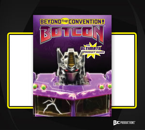 *NEW* BotCon - Beyond The Convention: The Ultimate Product Guide Reg Cvr