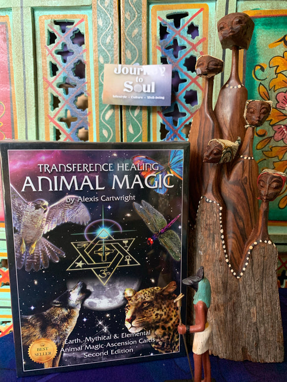Animal transference healing oracle cards