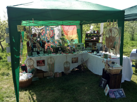 The Druid's Kitchen Market Stall