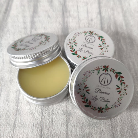 Vegan Banana Lip Balm
