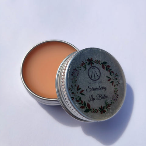 Vegan Stawberry Lip Balm