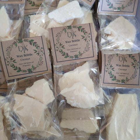 Coconut Soy Wax Brittle - The Druid's Kitchen
