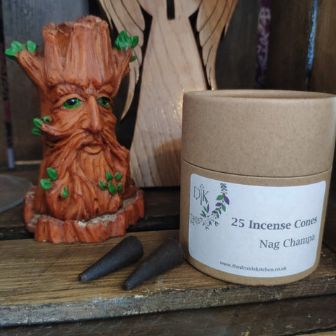 Nag Champa Incense Cones by The Druid's Kitchen