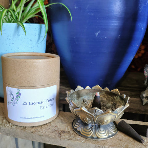 Patchouli Incense Cones by The Druid's Kitchen