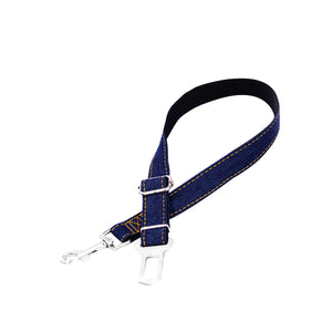 Adjustable Pet safety seat belt