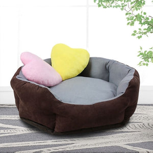WCIC Soft Warm Dog Bed 7 Colors 3 Sizes Waterproof Mat