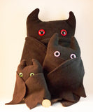 Black Frightdorable Bat, Plushies - Team Manticore