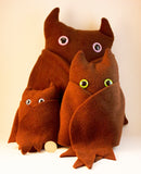 Brown Frightdorable Bat, Plushies - Team Manticore