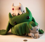 Cat-thulhu, Plushies - Team Manticore