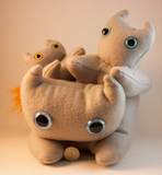 Grey Frightdorable Cat, Plushies - Team Manticore