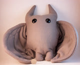 Grey Frightdorable Bat, Plushies - Team Manticore