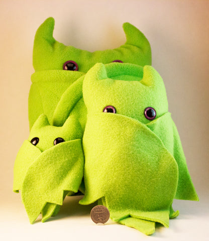 Green Frightdorable Bat, Plushies - Team Manticore