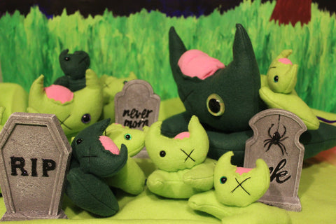 Zombie Cat, Plushies - Team Manticore