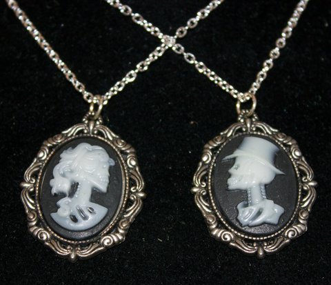 Death's Head Glow-In-The-Dark Cameo, Jewelry - Team Manticore