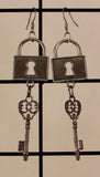 Lock and Key Earrings, Jewelry - Team Manticore