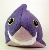 Frightdorable Shark (Purple), Plushies - Team Manticore