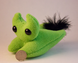 Light Green Frightdorable Cat, Plushies - Team Manticore