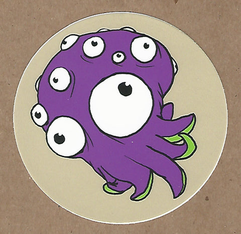 Cute Cephalopod Sticker, Sticker - Team Manticore