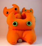 Orange Frightdorable Cat, Plushies - Team Manticore