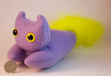 Purple Frightdorable Cat, Plushies - Team Manticore