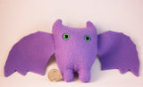 Purple Frightdorable Bat, Plushies - Team Manticore