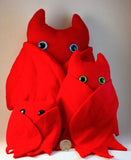 Red Frightdorable Bat, Plushies - Team Manticore