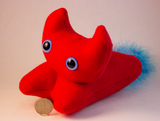 Red Frightdorable Cat, Plushies - Team Manticore