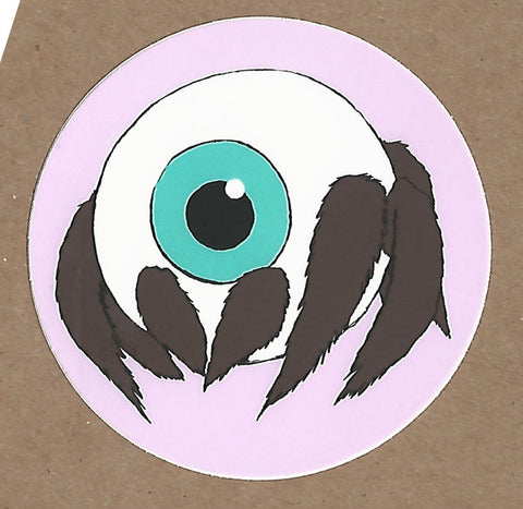 Cute Spider Eyeball Sticker, Sticker - Team Manticore