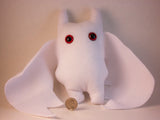 White Frightdorable Bat, Plushies - Team Manticore