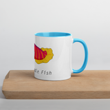 Doesn't Cuddle Fish Colorful Mug