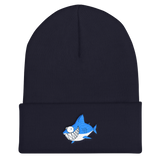Optimist Shark Cuffed Beanie, [product_type] - Team Manticore