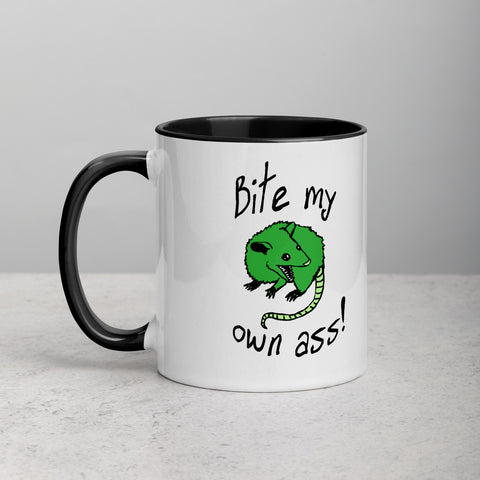 Bite Mug with Color Inside