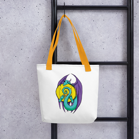 Little Dragon's Horde Tote bag, [product_type] - Team Manticore