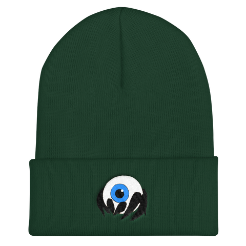 Cute Spider Eye Cuffed Beanie, [product_type] - Team Manticore