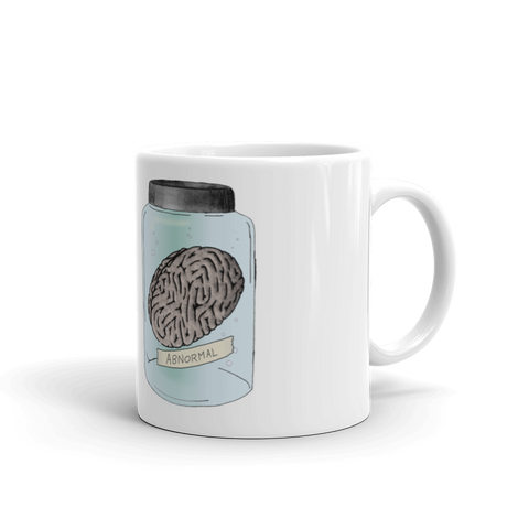 Abnormal Brain Mug, Mug - Team Manticore