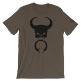 Black Door Knocker Unisex T-Shirt, [product_type] - Team Manticore