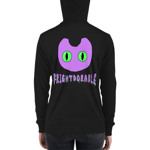 Frightdorable Cat Hooded Sweatshirt