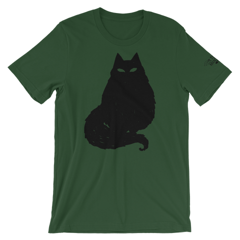 Black Cat Unisex T-Shirt, [product_type] - Team Manticore