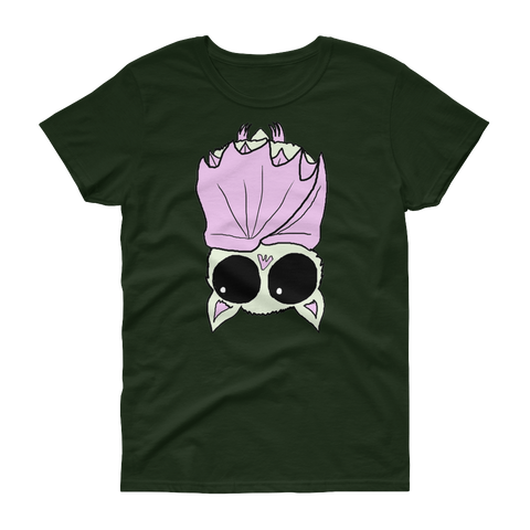 Cute Bat T-Shirt (Womens)
