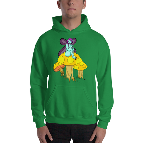 Dark Faerie Hooded Sweatshirt