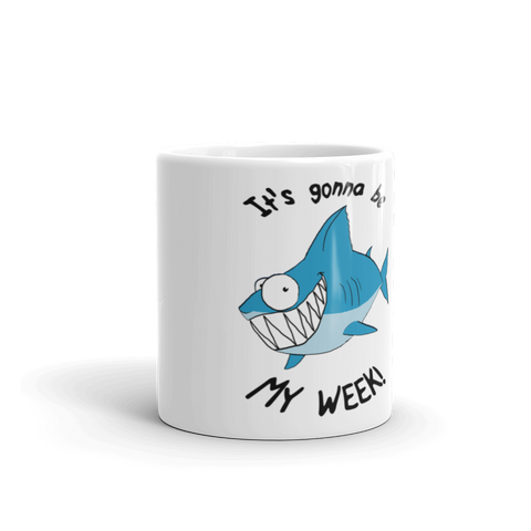 Optimist Shark Mug