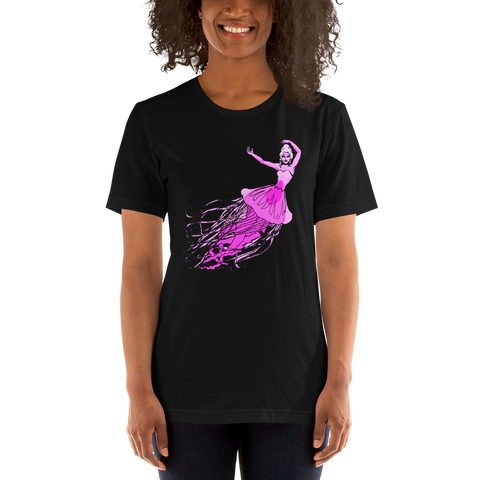 Jellyfish Mermaid Ballerina Short-Sleeve Unisex T-Shirt
