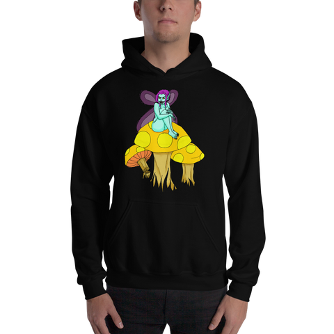 Dark Faerie Hooded Sweatshirt, Apparel - Team Manticore