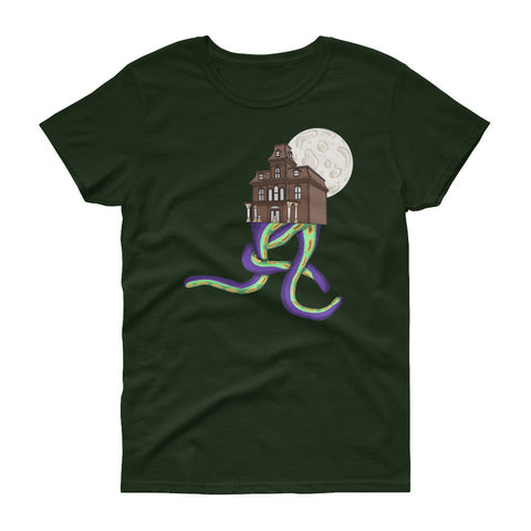 Dark House T-Shirt (Womens), Apparel - Team Manticore
