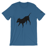 Black Dog Unisex T-shirt, [product_type] - Team Manticore